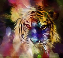 Mystic Tiger by Darlene Lankford Honeycutt