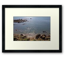 See With Diamonds in Dorset Framed Print