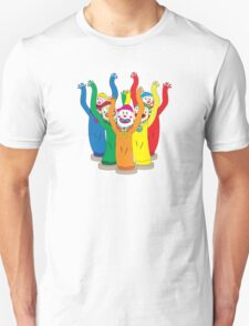 Weird & Wacky Waving Inflatable Arm Flailing Tube Man T-Shirt