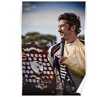 Captain Mike Keats, Geelong Rams Poster