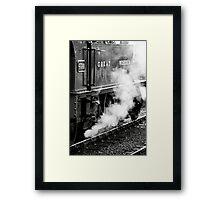 Nostalgic Steam Framed Print