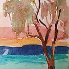 Bribie Island  Evening  by Virginia McGowan