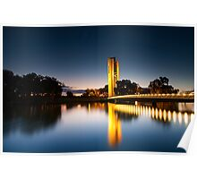 National Carillon In Canberra Poster