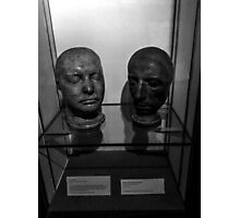 Life Masks Of Coleridge And Wordsworth Photographic Print