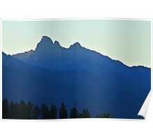 Early Morning on Mount Harding Poster
