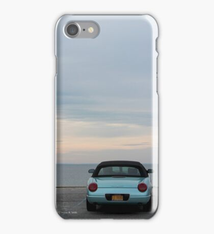 Turquoise  Ford Thunderbird - 11th Generation | Mt. Sinai, New York  iPhone Case/Skin