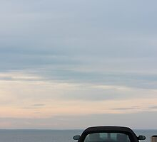 Turquoise  Ford Thunderbird - 11th Generation   Mt. Sinai, New York  by © Sophie W. Smith