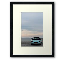 Turquoise  Ford Thunderbird - 11th Generation | Mt. Sinai, New York  Framed Print