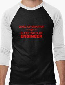 Wake up Smarter Sleep With An Engineer  Men's Baseball ¾ T-Shirt