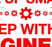 Wake up Smarter Sleep With An Engineer  Sticker
