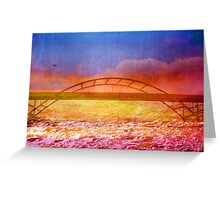 The River is Rising Greeting Card