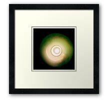 google eye Framed Print