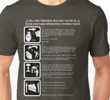 MX-1000 operating instructions: Unisex T-Shirt