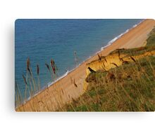 View From The Cliff Canvas Print