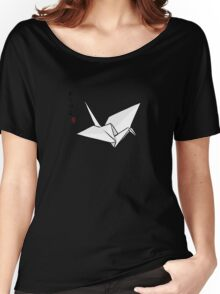 Paper Crane Color Women's Relaxed Fit T-Shirt