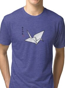 Paper Crane Color Tri-blend T-Shirt