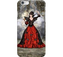 Lady Vamp iPhone Case/Skin