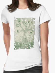 Tree of Life Fabric Art - Sketch Effect T-Shirt