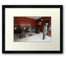 thai guns Framed Print