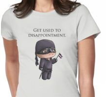 Dissapointment Womens Fitted T-Shirt