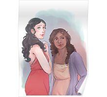 Morgana and Gwen Poster
