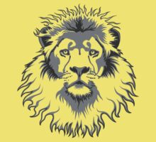 Lion Head Kids Tee