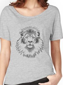Lion Head Women's Relaxed Fit T-Shirt