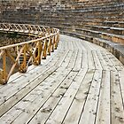 Ancient Amphitheater Detail by Nickolay Stanev