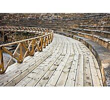 Ancient Amphitheater Detail Photographic Print