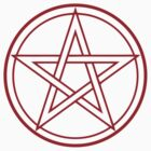 Red Pentacle by MacX