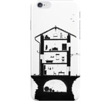 Architecture of italian home iPhone Case/Skin