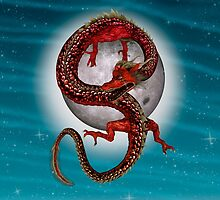 Eastern Red Dragon by Vac1