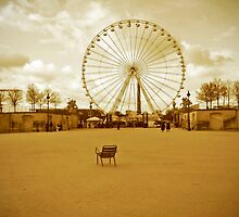 Parisian Park by annadavies