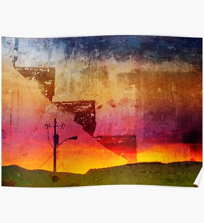 Graffiti Sunset 2 Poster