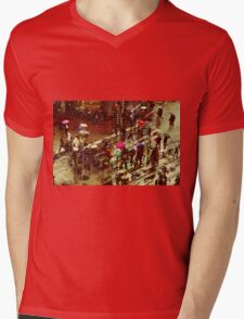 Amsterdam 3 Mens V-Neck T-Shirt