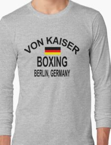 Punch-Out!!! Von Kaiser Gym Long Sleeve T-Shirt