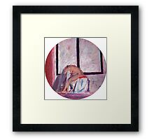 Round Window #1 Framed Print
