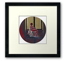 Round Window #2 Framed Print