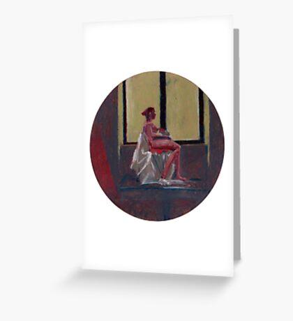 Round Window #2 Greeting Card