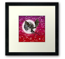 Black Dragon Framed Print