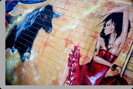 Graffiti Around Melbourne by Rosina  Lamberti