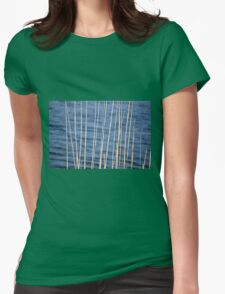 The Lines of Nature Womens Fitted T-Shirt