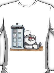 Doctor Baymax And baby Kitty T-Shirt
