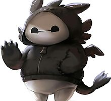 Baymax like as toothless by BotokPetet