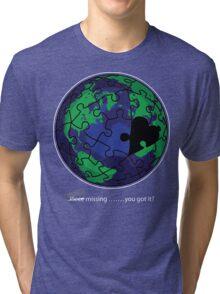 Piece missing Tri-blend T-Shirt