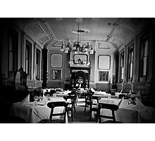 formal dining Photographic Print