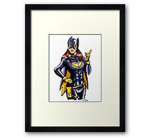 Hey there, Batgirl! Framed Print