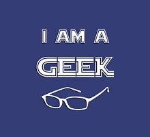 I Am A Geek Tank Top