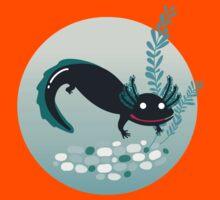 A lotl axolotl Kids Tee