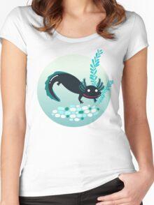 A lotl axolotl Women's Fitted Scoop T-Shirt